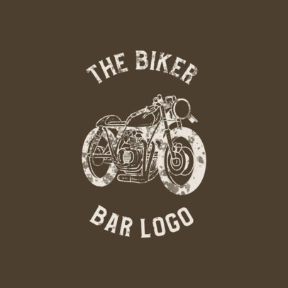 Online Logo Template for a Bikers Club 772-el1