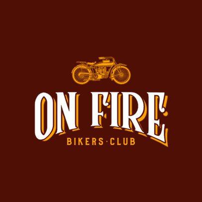 Vintage Logo Generator for an Established Bikers Club 777b-el1