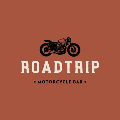 Logo Generator for a Motorcyclist Bar 778a-el1