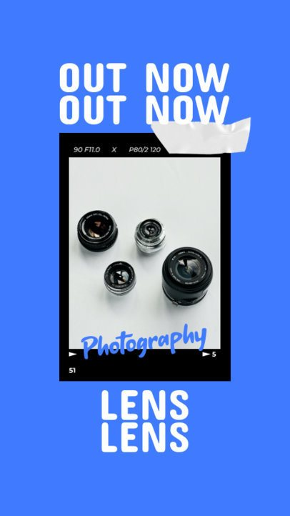 Instagram Story Generator for a Photography-Based Account 917c-el1
