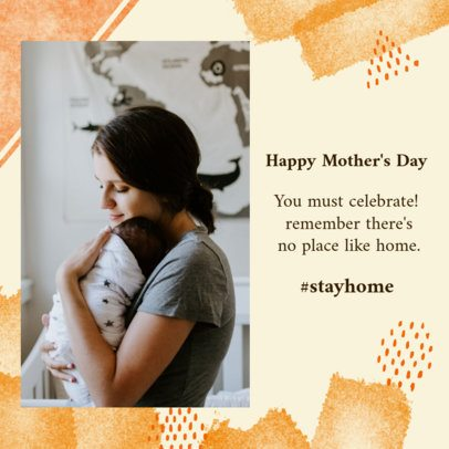 Elegant Instagram Post Creator to Celebrate Mother's Day at Home 2452e