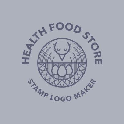 Logo Creator Featuring an Abstract Bird Nest Graphic 3170c