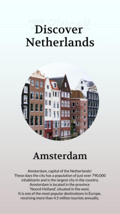 Informative Instagram Story Video Creator for Traveling Destinations 1322-el1