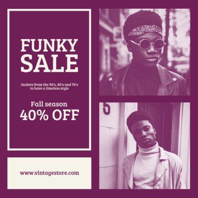 Modern Instagram Story Maker for a Funky Clothing Sale 969a-el1