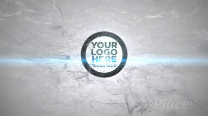 Intro Maker for a Logo Reveal Featuring Whirling Particles and a Bright Light Animation 1389-el1