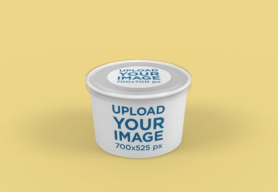 Food Packaging Mockup of a Soup Bowl 4005-el1