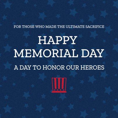 Facebook Post Design Maker to Honor War Heroes 2486h