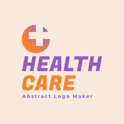 Health Care Logo Maker Featuring a Simple Design 3212e