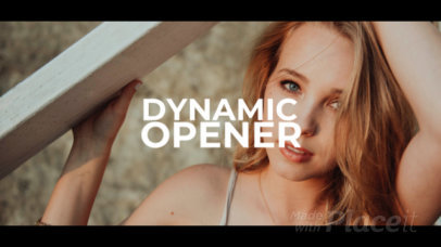 Slideshow Video Maker for a Fashion Brand with Dynamic Pictures and Videos 1584-el1