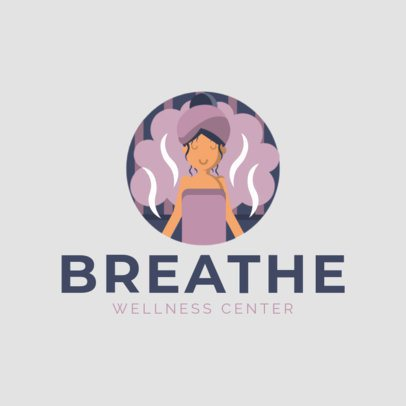 Logo Maker for a Wellness Center with Different Graphics 1304-el1