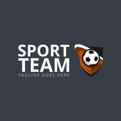 Sports Logo Creator for a Veteran's Soccer League 1297G-el1