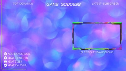 Twitch Overlay Maker for Female Gaming Streamers 2512a