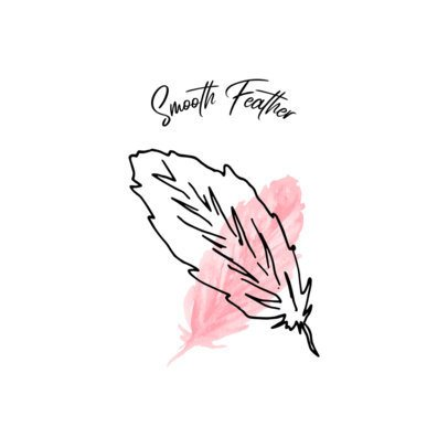 Beauty Logo Creator with a Soft Feather Graphic 1352b-el1