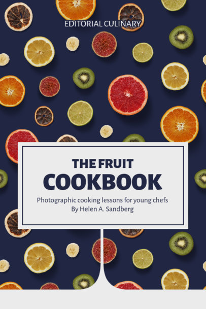 eBook Cover Design Template for Food Books 1413-el1