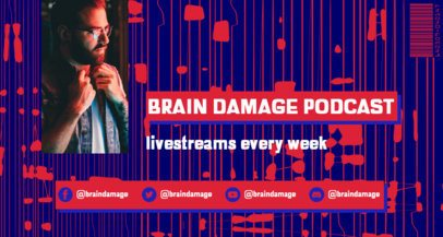 Twitch Banner Generator Featuring a Weekly Podcast 2523c