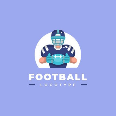 Logo Maker Featuring People Practicing Sports 1455-el1