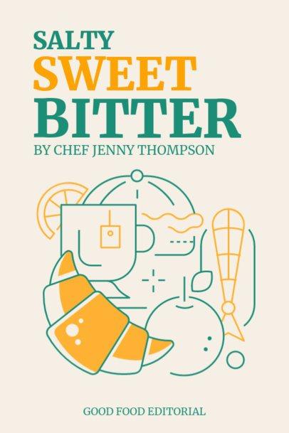 eBook Cover Maker for Different Flavor Food Recipes 1419a-el1