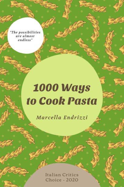 eBook Cover Generator for Different Pasta Recipes 1415b-el1