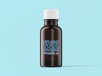 Essential Oil Bottle Mockup 4208-el1