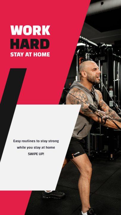 Instagram Story Generator for Fitness Coaches 1473c-el1