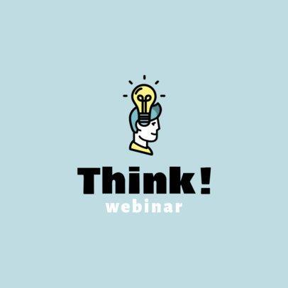 Logo Maker for an eLearning Webinar 1501b-el1