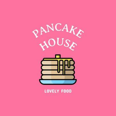 Logo Creator for a Pancake House 1491a-el1