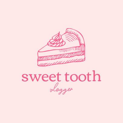 Logo Generator for a Dessert Tasting Vlog 1534b-el1