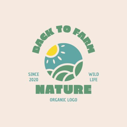 Logo Maker for an Organic Products Brand 1602-el1