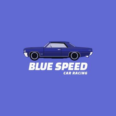 Online Logo Maker for a Car Racing Team 1646-el1