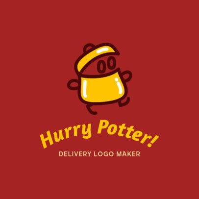 Silly Logo Maker for a Food Delivery Service 3298d