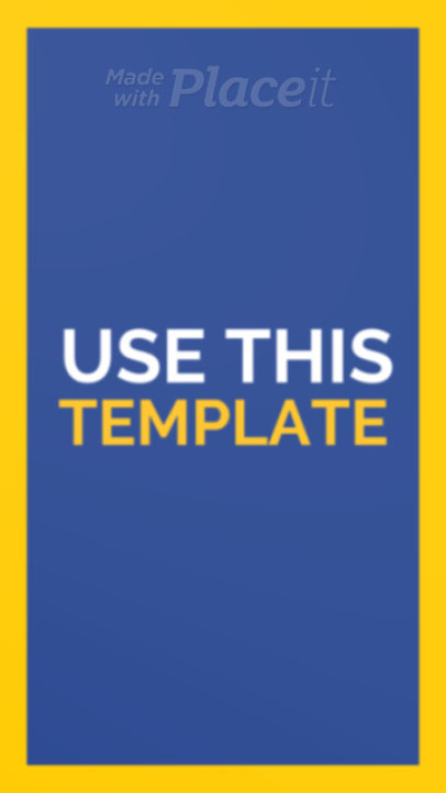 Instagram Story Video Template Featuring Dazzling Photos 26-el1
