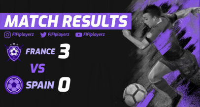 Twitch Banner Generator Featuring Online Soccer Match Results 2553c