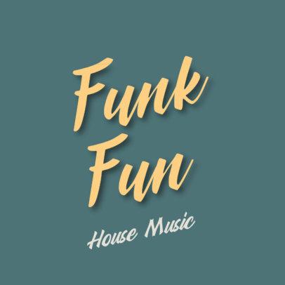 Music Logo Maker for a Funky Album Cover 3299d