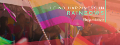Facebook Cover Design Template for Pride Month 1086g-2594