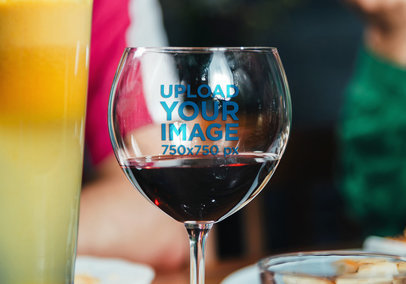 Wine Glass Mockup 36814-r-el2