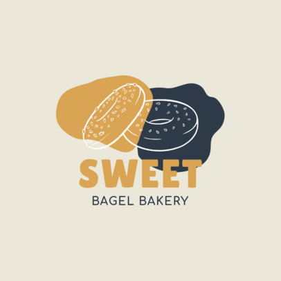 Online Logo Maker Featuring Bagel Graphics 1746b-el1