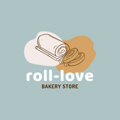 Logo Creator for a Pastry Shop Featuring Simple Graphics 1746c-el1