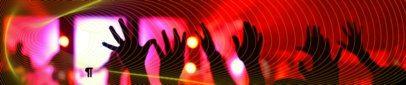 SoundCloud Header Creator Featuring Crowd Hands at a Concert 2596e