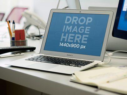 MacBook Air Work Environment