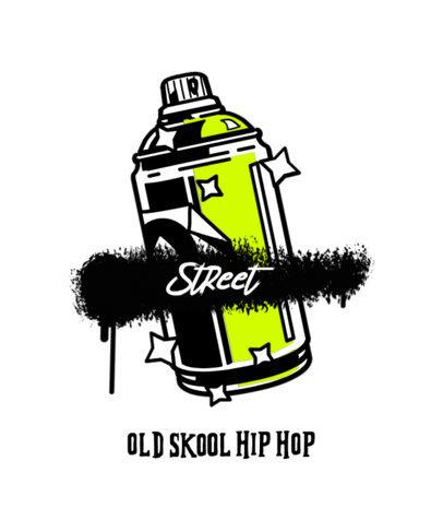 Streetwear-Styled T-Shirt Design Maker With Graffiti-Themed Illustrations 2667