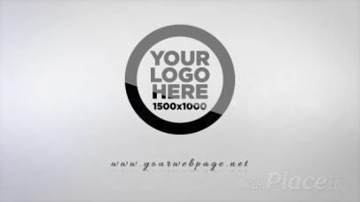 Minimalist Logo Reveal Intro Maker Featuring Shiny Lights 619-el1