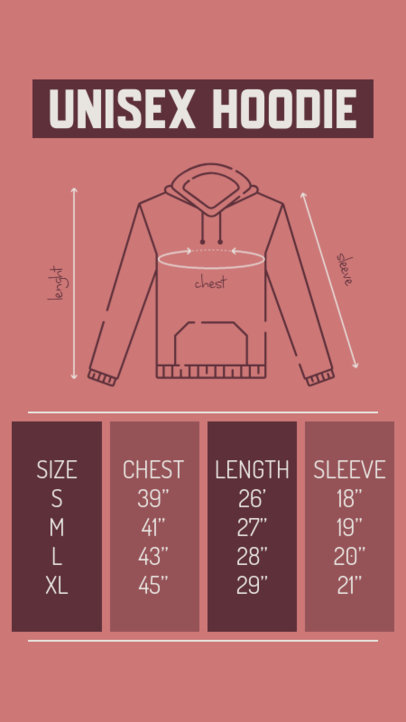 Clothing Label Design Creator for a Unisex Hoodie 2691a