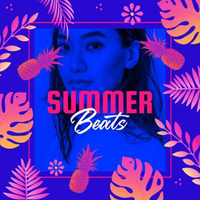 Music-Themed Instagram Post Creator for Summer-Type Beats 2719d