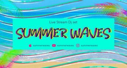 Fresh Summer Banner Maker for Twitch Streamers 2721b