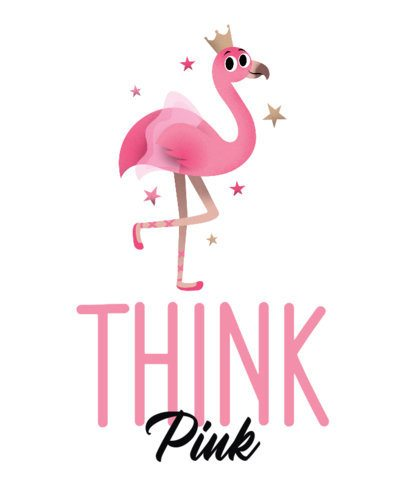 Cute T-Shirt Design Creator of a Flamingo 2717h