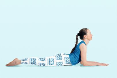 Leggings Mockup of a Woman Lying at a Studio's Floor 34974-r-el2