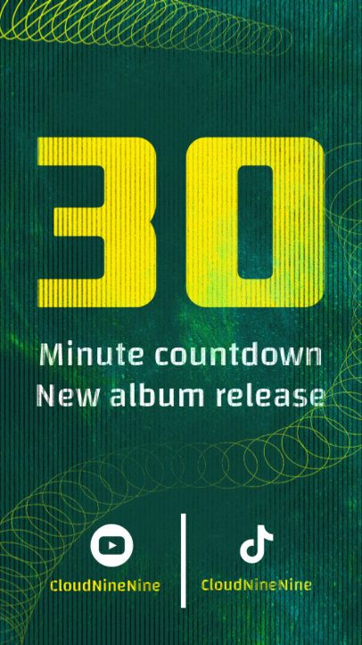 Instagram Story Creator for an Album Release Countdown 2758f