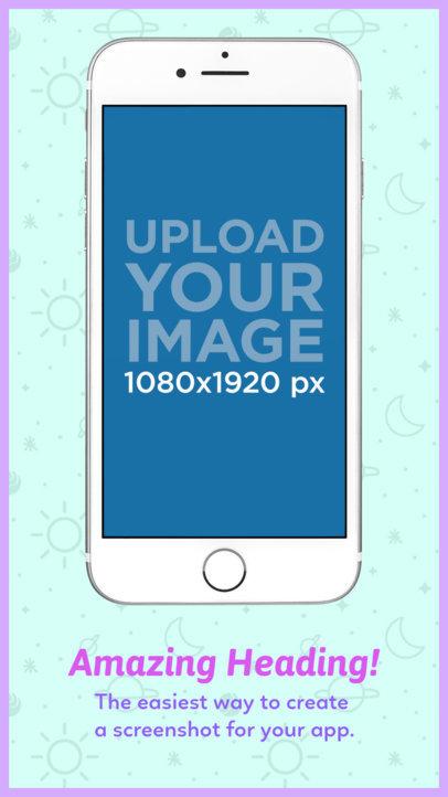 iPhone 7 Floating App Store Screenshot Maker 1311