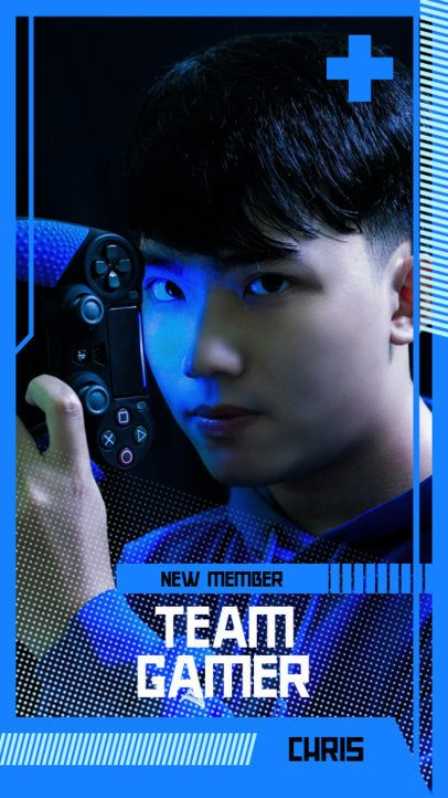 Instagram Story Template for a Gaming Team 2458a-el1