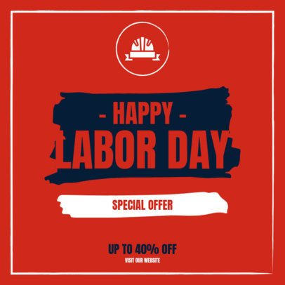 Instagram Post Creator to Celebrate Labor Day with a Special Offer 2469c-el1